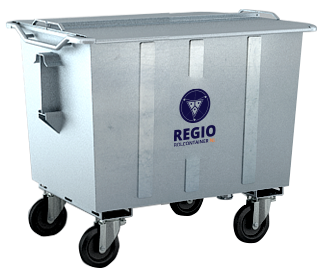 500 Liter Rolcontainer